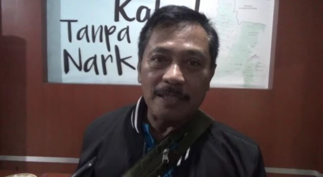 Kompol Yanto, kasi Penyidikan Bidang Pemberantasan BNN Kalsel