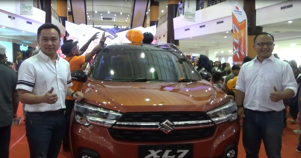 launching mobil Suzuki XI7 mengusung konsep The New Extraordinary SUV