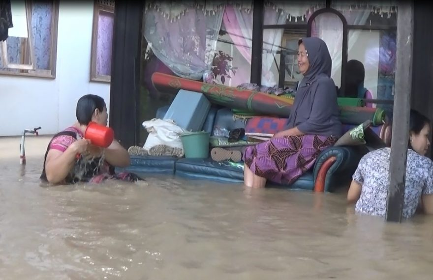musibah banjir yang terparah di Kecamatan Tapin Utara