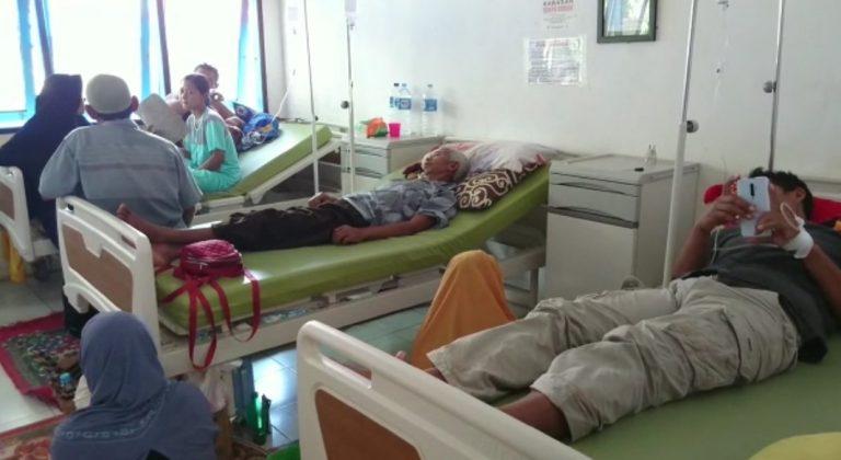 Pasien yang dirawat di Puskesmas Kintap