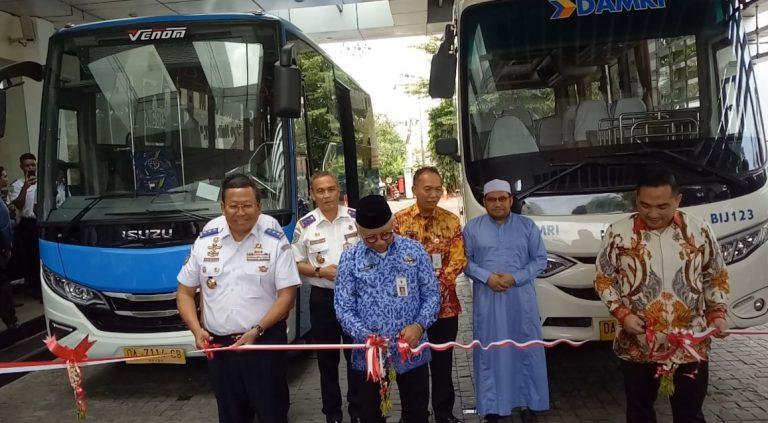 Dirjen Perhubungan Darat Resmikan Bus BRT dan Damri