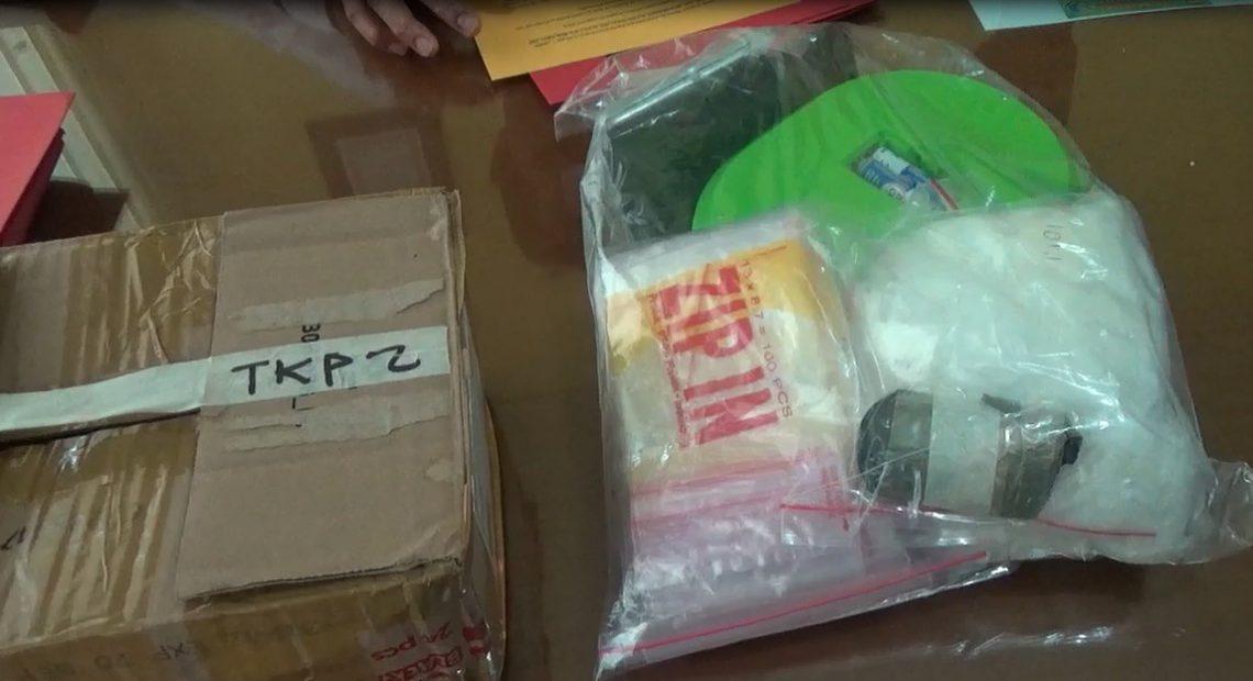 Ciduk pengedar narkoba jenis sabu di jalan Pramuka