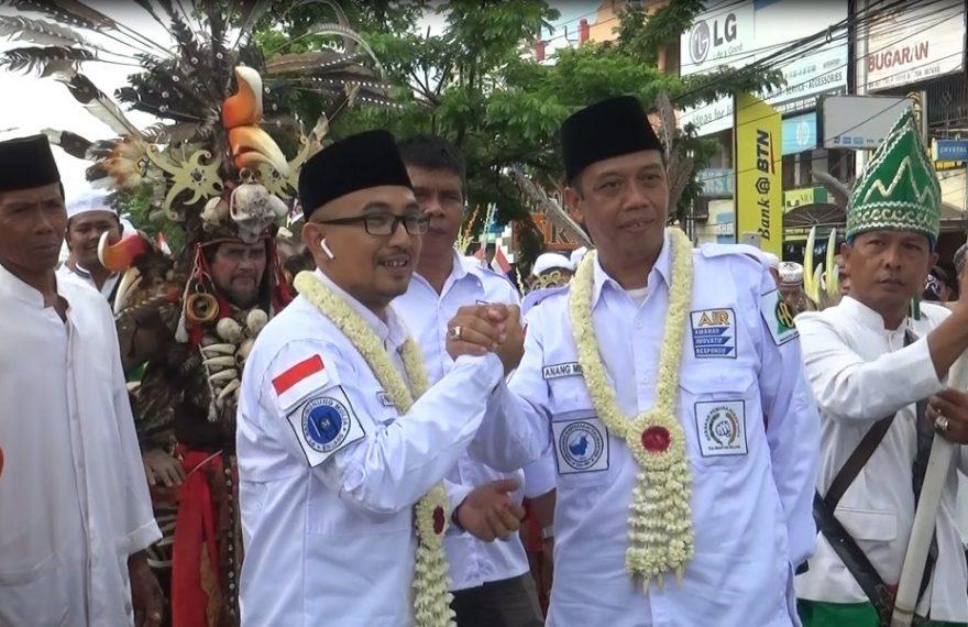 perjalanan menuju kantor KPU kota Banjarmasin