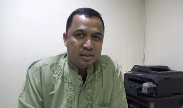 Candra, kabid jalan Dinas PUPR kota Banjarmasin