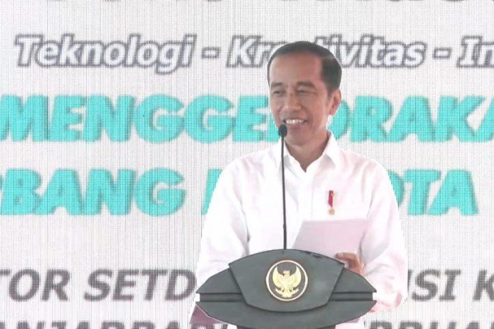 sambutan Jokowi pada HPN 2020