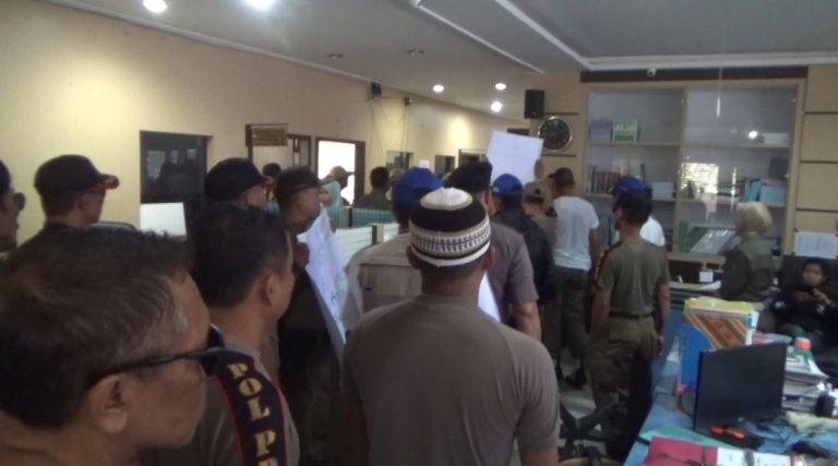 Satpol PP Banjarmasin Ngamuk di Kantor BKD