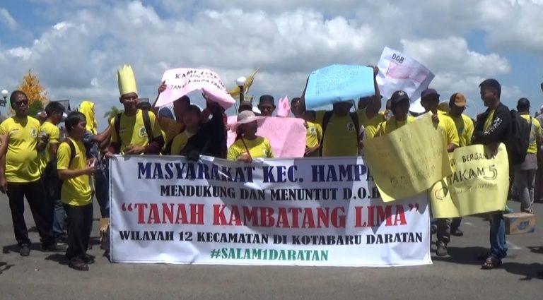 12 Kecamatan di Kotabaru Tuntut Persetujuan Pemekaran Kabupaten