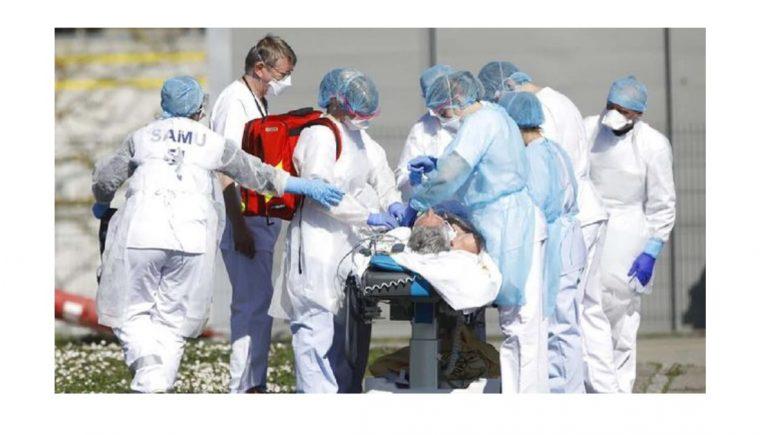 Rekor Harian Tertinggi Kematian Virus Corona di Prancis