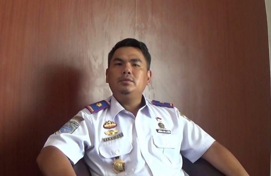 Ferdinan Nurdin Kepala Kantor Unit Penyelenggara Bandara Gusti Syamsir Alam