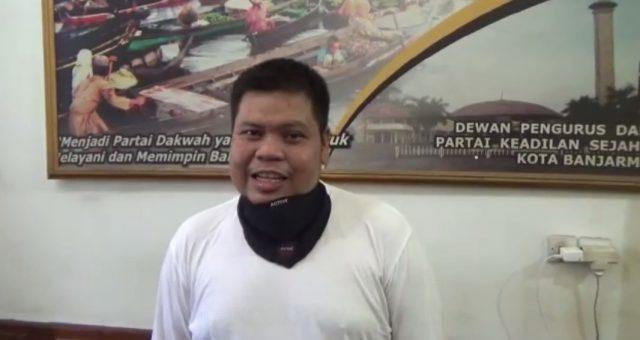 Hendra Ketua DPD PKS Banjarmasin