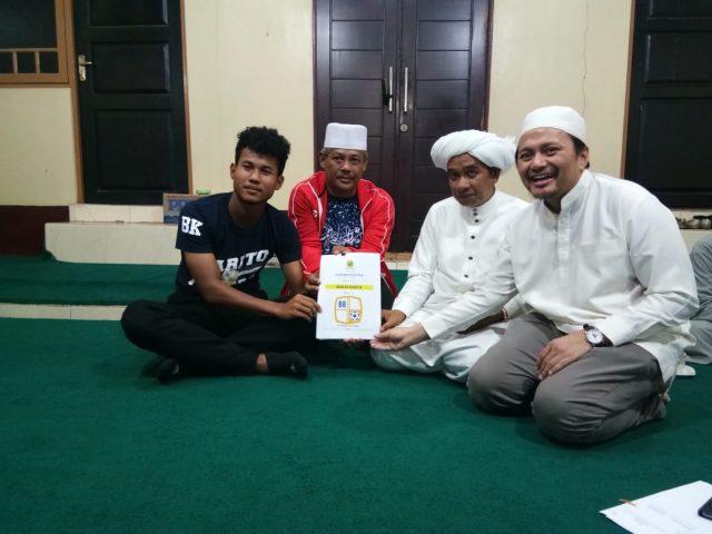Bagas Kaffa Perpanjang Kontrak di Kediaman Guru Zuhdi