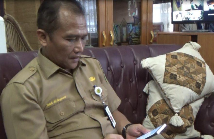 Kadisdik kota Banjarmasin Totok Agus Daryanto