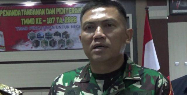 Letkol Armed Dedy Soehartono Dandim 1003 Kandangan