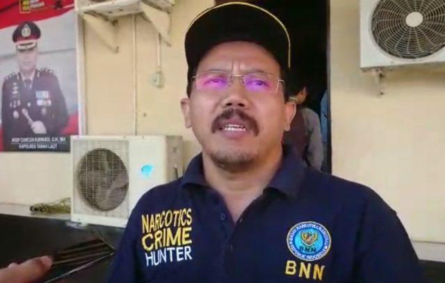 Muhammad Faisal Sidik Kapala BNNK Tanah Laut