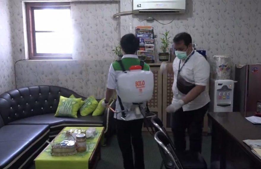Pemko Banjarbaru melakukan upaya untuk mencegah penyebaran Covid-19