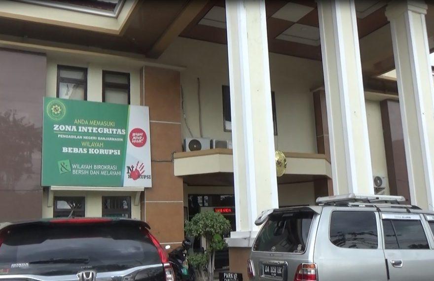 Pengadilan Negeri Banjarmasin libur untuk sementara