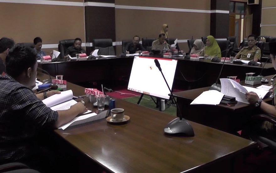 Rapat Bapemperda DPRD Tanbu