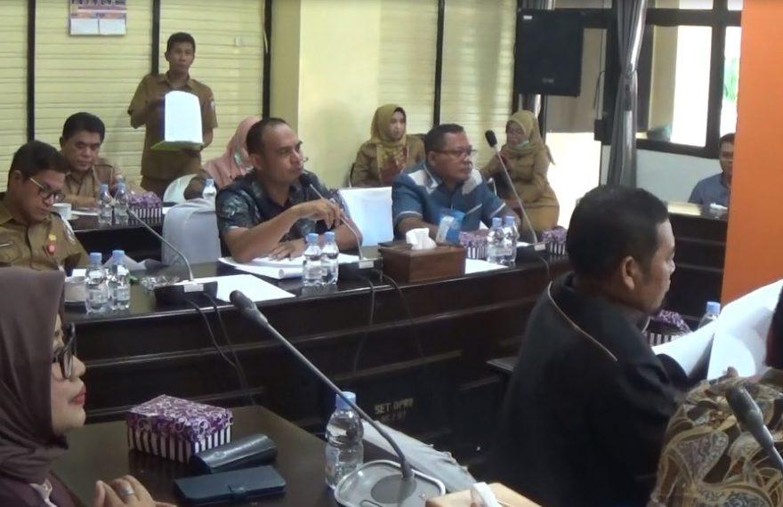 Rapat DPRD Kotabaru terkait dana kompensasi Tambang Pulau Laut