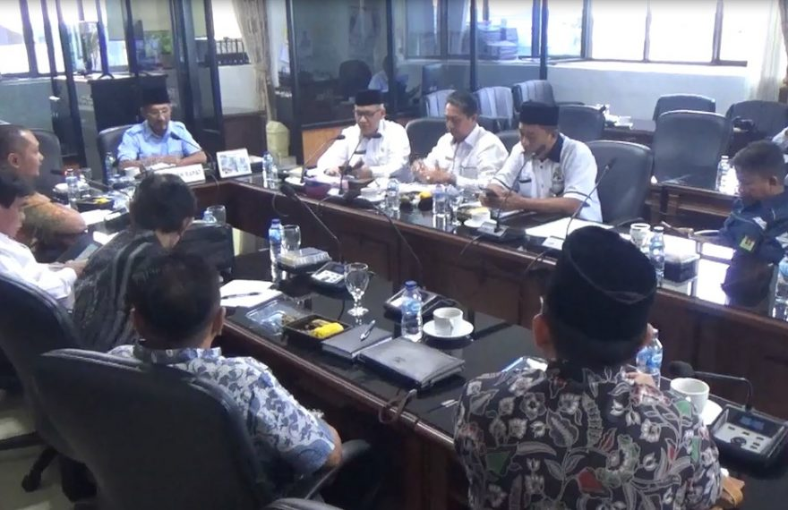 Rapat Kemenag kalsel dengan Komisi IV DPRD Kalsel