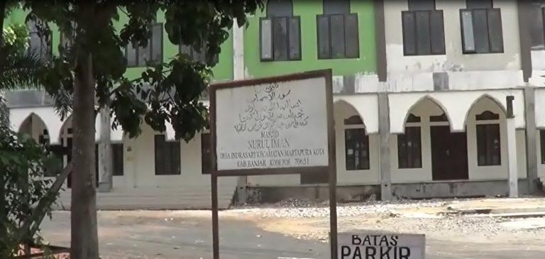 Sejumlah Masjid di Kota Martapura Tiadakan Sholat Jumat