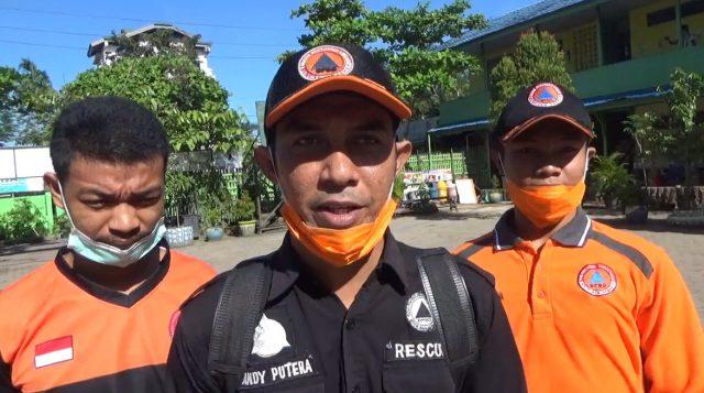 Andy Putera, Tim Rescue BPBD kota Banjarmasin.