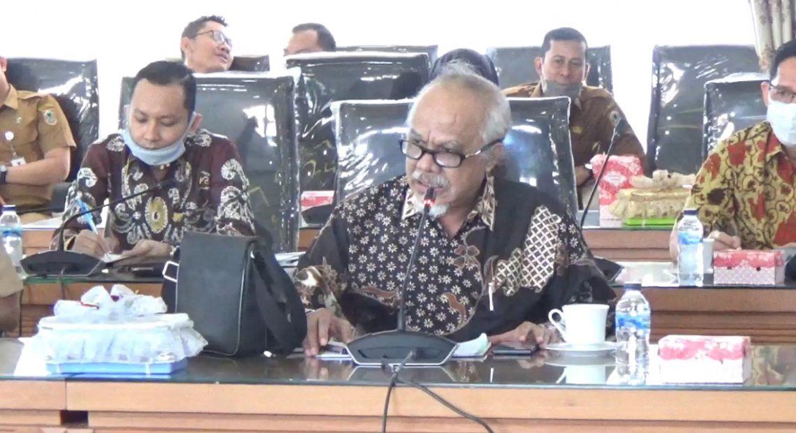 rapat koordinasi pimpinan dan anggota DPRD provinsi Kalsel