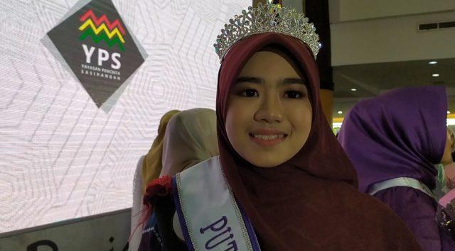 Fenny Nadila Ramadhaniah, putri muslimah 2020