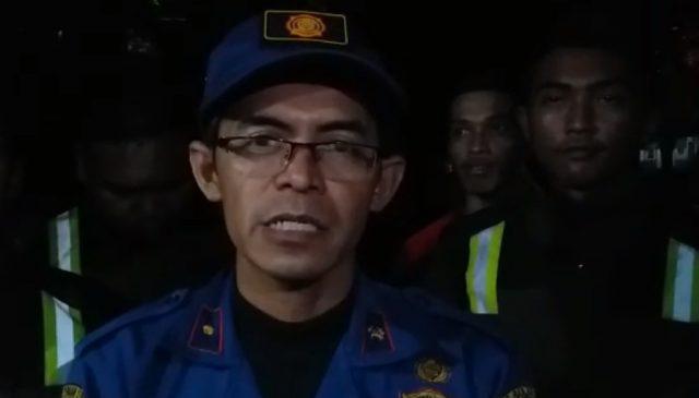 kepala UPT Damkar Banjar, Gusti Yudi
