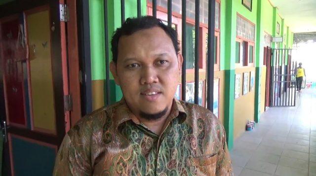 Raymond Alamsyah, koordinator PPK SDN 1 Pasar Lama