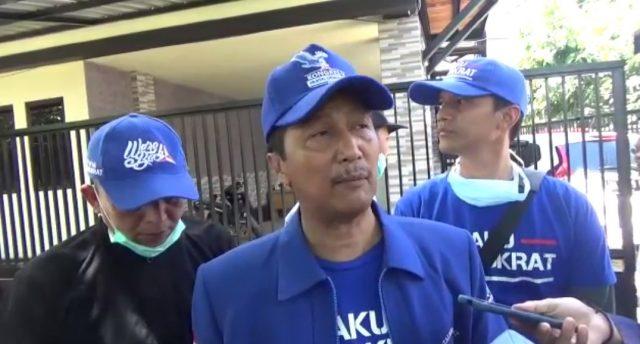 ketua DPC Partai Demokrat Banjarmasin, Bambang Yanto Permono