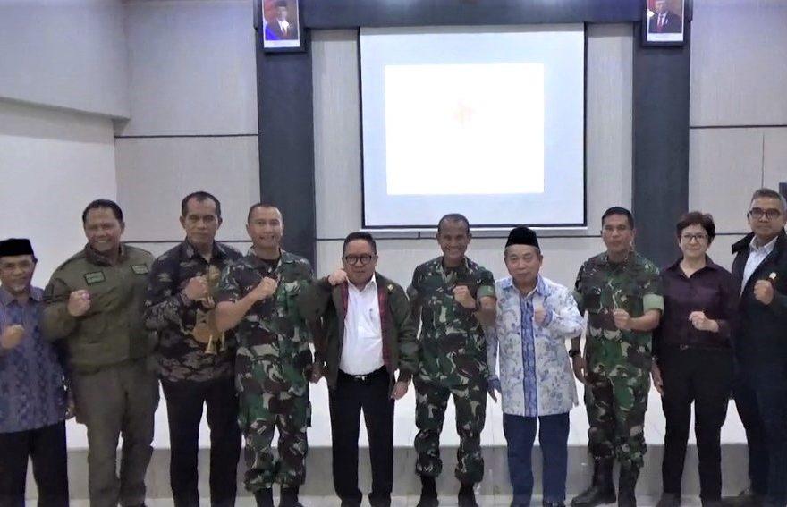 DPR RI kunkuer bersama TNI kesiapan pilkada
