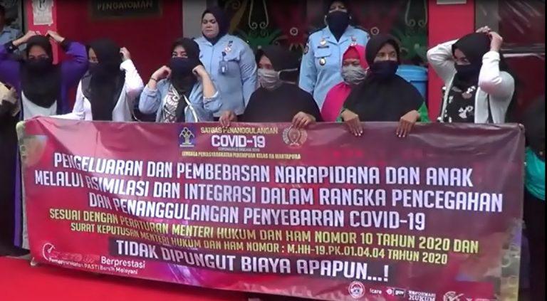 16 Tahanan Narapidana binaan LPP Martapura bebas