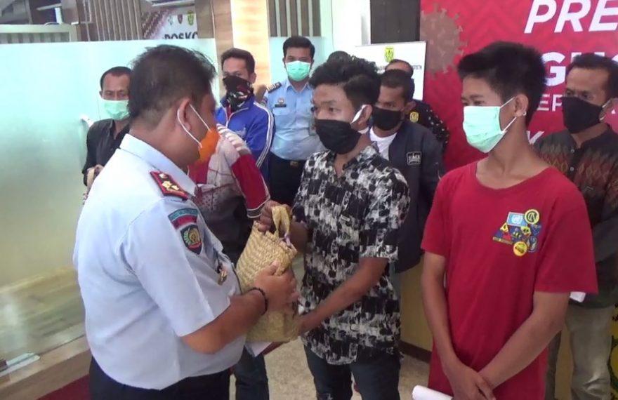 339 Mantan Warga Binaan Dapat Bantuan Sembako