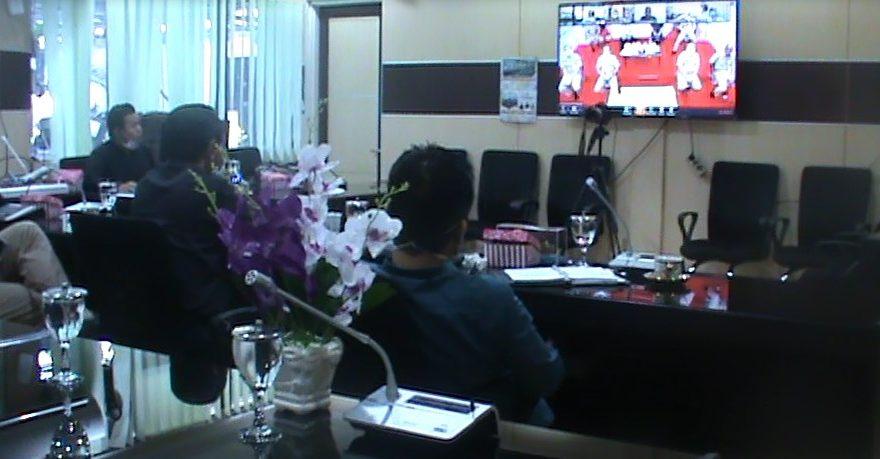 Banmus DPRD kota Banjarmasin, menggelar rapat pembahasan agenda