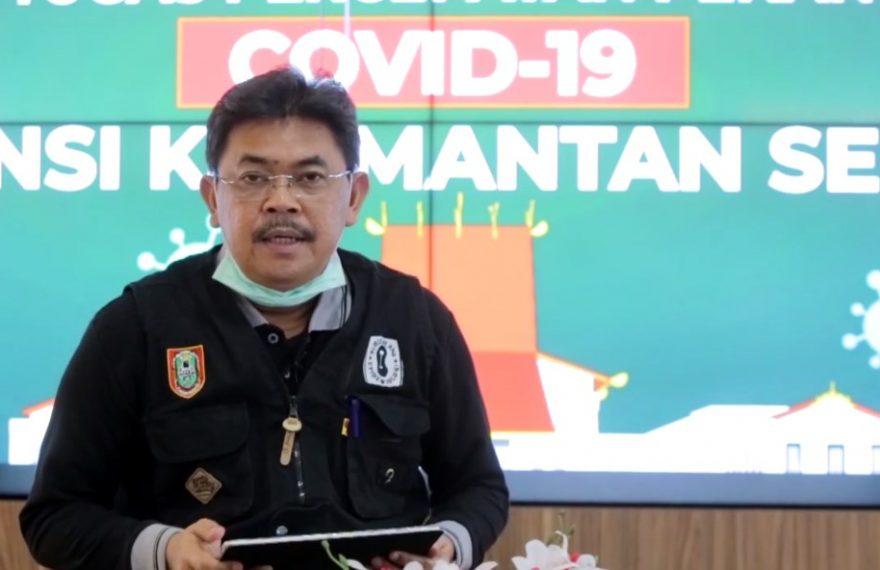 HM Muslim Juru Bicara Tim GTPP Covid 19 Kalsel