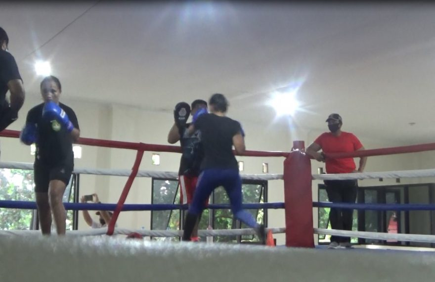 Ketua Koni Kalsel Tinjau Latihan Cabor Tinju Ditengah Pandemi Covid-19