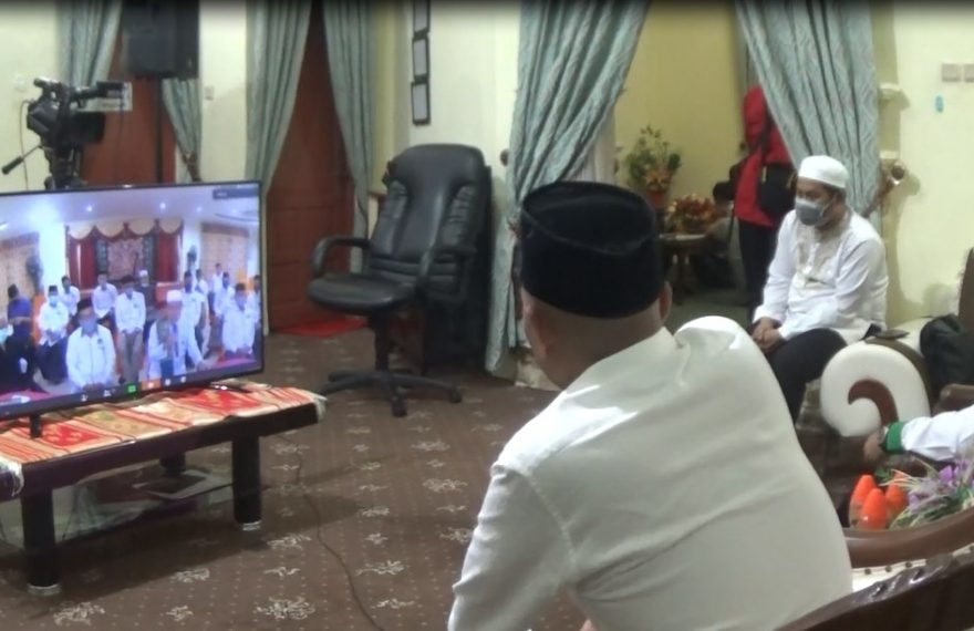 Pengurus NU Bahas Program Penanganan Corona Lewat Video Conference
