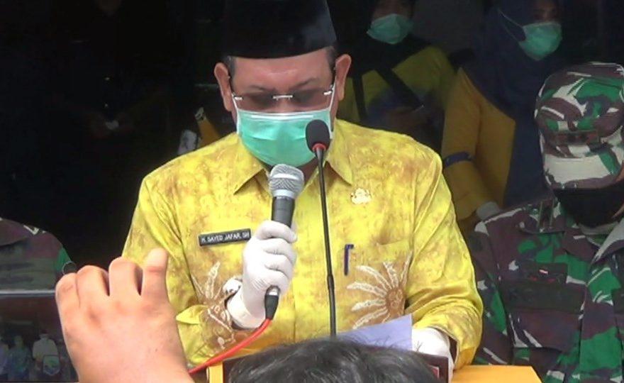 Sayed Jafar Bupati Kotabaru