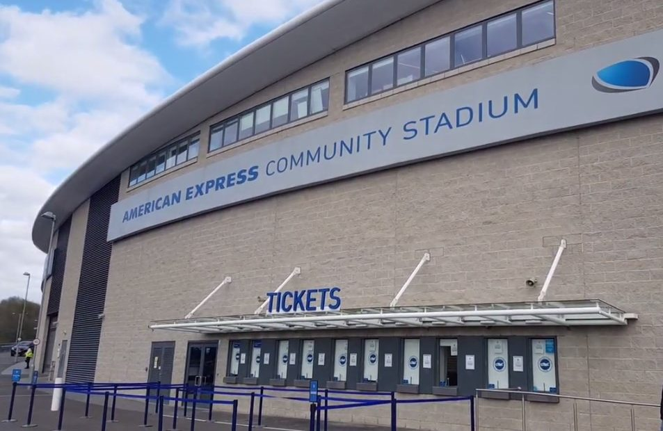 Stadion Milik Brighton & Hove Albion Diubah Jadi Tempat Tes Corona (sumber Youtube)Stadion Milik Brighton & Hove Albion Diubah Jadi Tempat Tes Corona