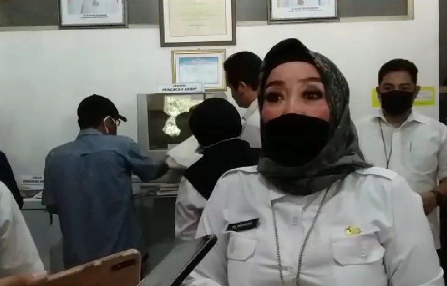 Kepala Dinas Arsip dan Perpustakaan Daerah Kalsel Hj Nurliani Dardie