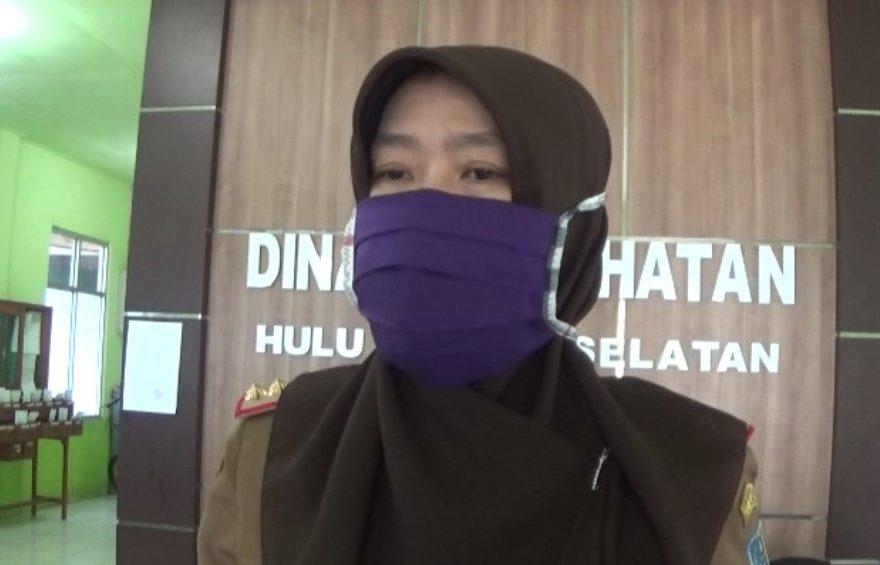 dr. Siti Zainab, juru bicara Tim Gugus Tugas kabupaten Hulu Sungai Selatan