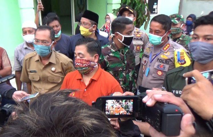 mediasi antara warga dan Walikota Banjarmasin tentang gedung karantina
