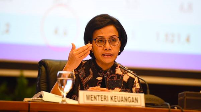 Menteri keuangan Republik Indonesia Sri Mulyani