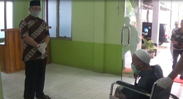 Kabar gembira datang dari Kabupaten Hulu Sungai Selatan, dimana salah satu warganya yang sempat positif terinfeksi covid-19,