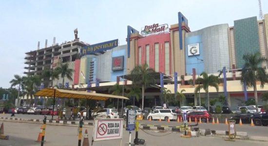Sangketa Duta mall Banjarmasin (Foto: wartaniaga)