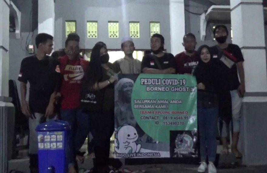 Komunitas Borneo Ghost Explore Bagikan Sembako ke Panti Asuhan