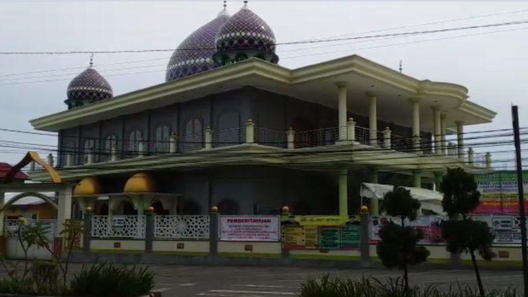 Masjid Kanzul Khairat sebulan ditutup karena PSBB