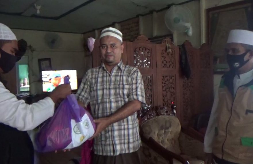 Rabithah Alawiyah Salurkan Bantuan Sembako Bagi Habaib dan Syarifah