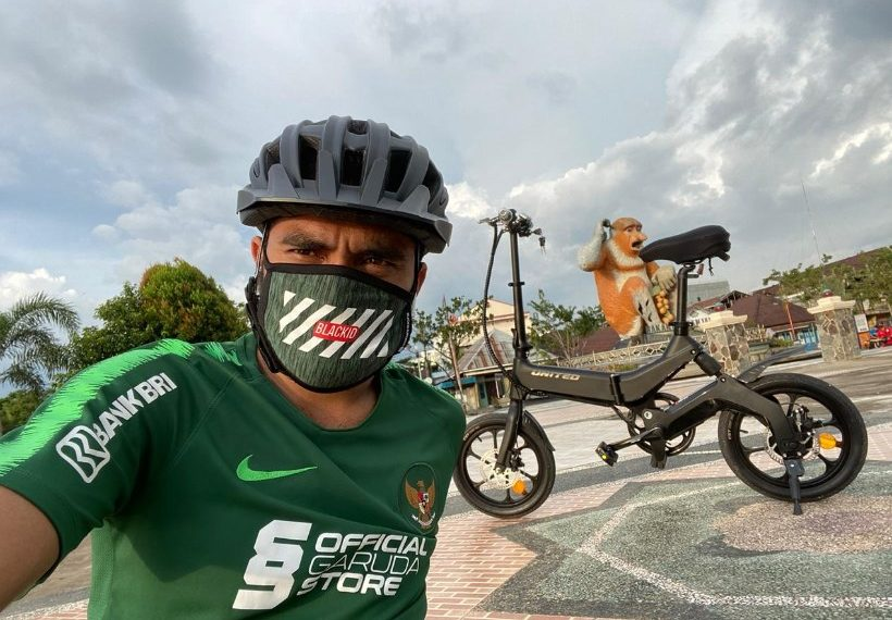 Risky PoraGowes Keliling Banjarmasin