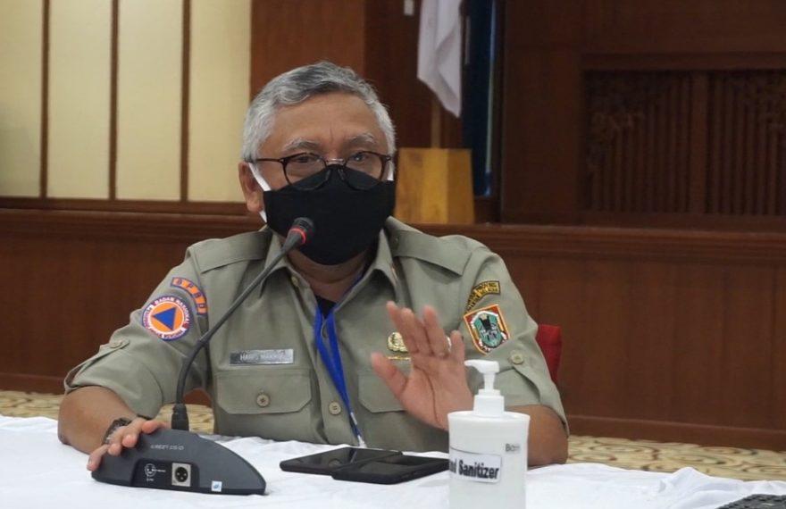 Abdul Haris Makkie, ketua harian Tim GTPP Covid-19 Kalsel